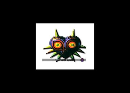 Majora's Mask doesn't change facial expression