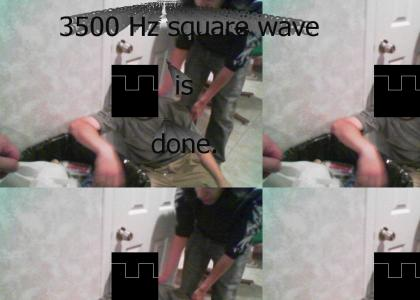 3500 Hz square wave is done