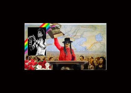 Rainbow Stalin Mourns for Michael Jackson