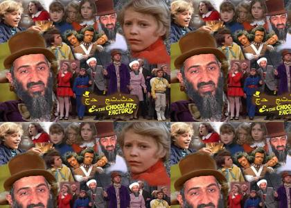 Osama bin Laden and the Chocolate Factory