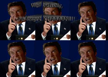 KHANTMND: Well actually he forgot KHAN!