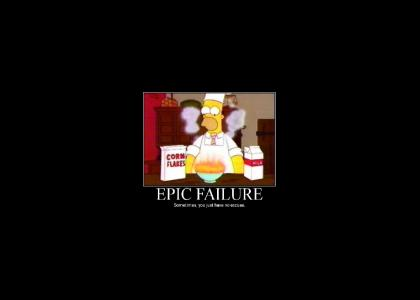 Epic Failure, Food Style