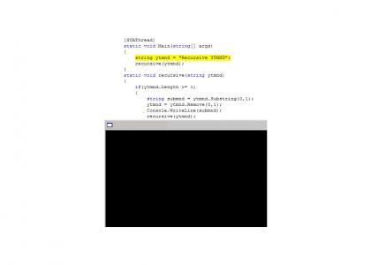 A recursive YTMND