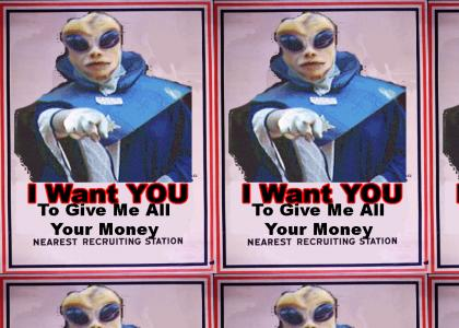 Xenu Wants You...