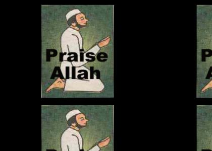 Praise Allah, I'm Cumming