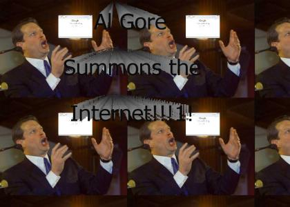 Al Gore Summons the Internet