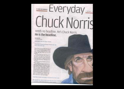 Every Day Chuck Norris