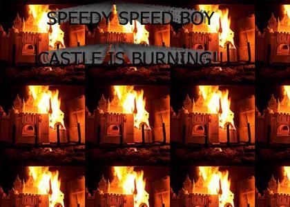 Castle is Burning!!