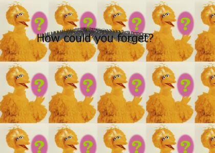 Conor Oberst remembers Big Bird... do you?
