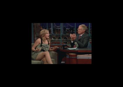 Knows what Emma watson upskirt david letterman