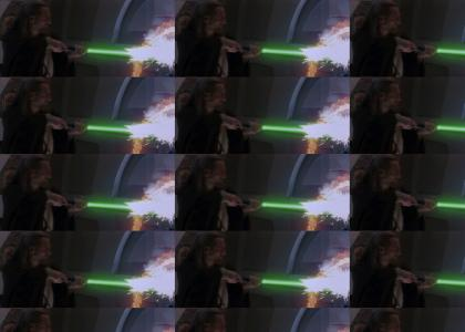 Qui Gon's Got The Magic Stick