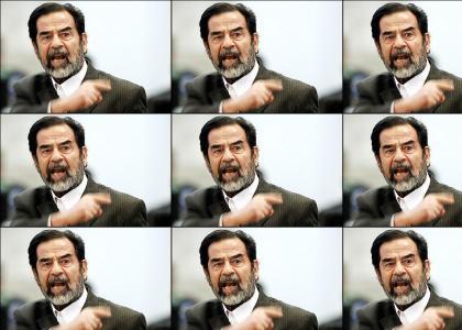 Saddam Hussein: OH SNAP!