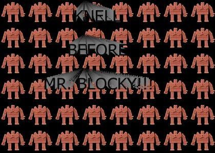 Mr. Blocky