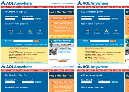 AOL 6.0 - now with better voice acting!
