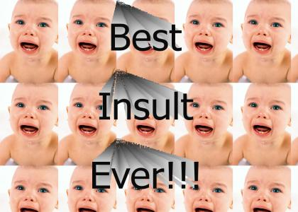 Best Insult Ever!