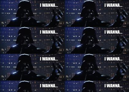 VADER WANTS TO ROCK