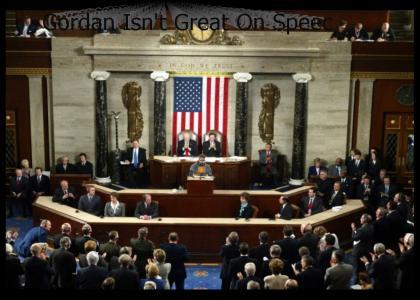 Gordan Freeman Addresses Congress
