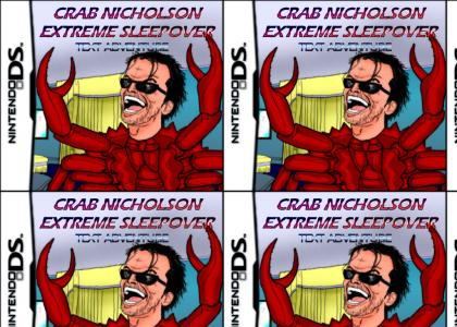 Crab nicholson extreme sleepover text adventure