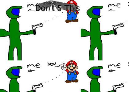 halo1gamer pwns Mario