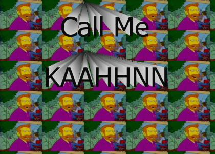 Call me KAHN