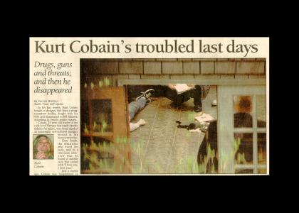 Kurt Cobain's Best Day Ever