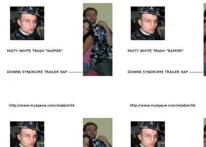 Wizdom Silent Style White Trash Rapper