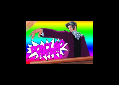 (GAYTMND) Phoenix Wright: Edgeworth's Objection
