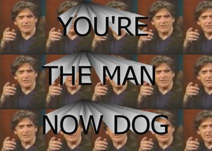 "Craig Ferguson ""You're the man now, dog!"""