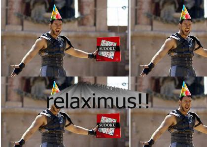 Dude, Maximus, it was just a joke