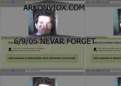 Arkonviox.com: Web Site to End All WebSites