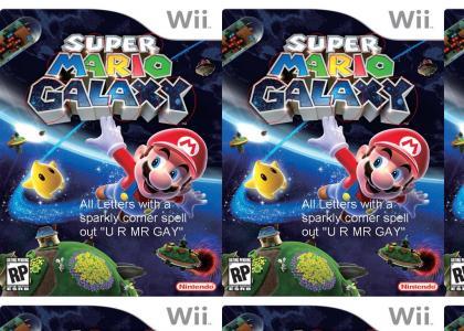 Super Mario Galaxy Hidden Text