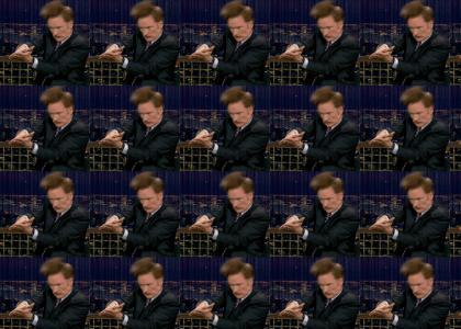 Conan...MAKES POPCORN!