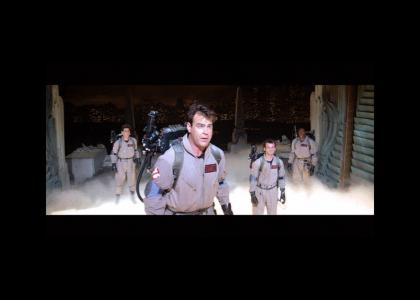 The Ghostbusters encounter a traveller