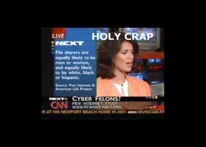 CNN: Shock truth behind FILE SHARERS