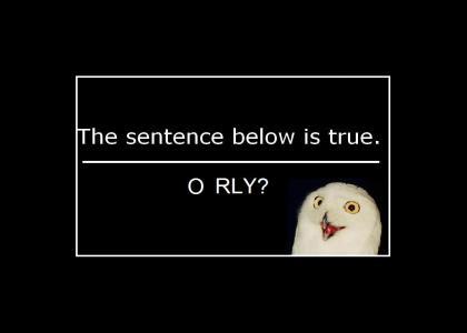 Liar Paradox O RLY?