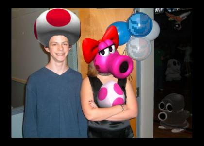 Jacob is... TOAD!!!