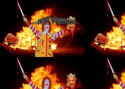 Ronald Slays The King!!
