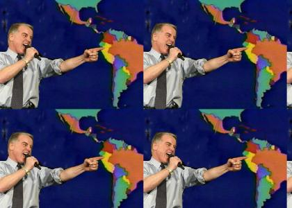 Howard Dean plots the world