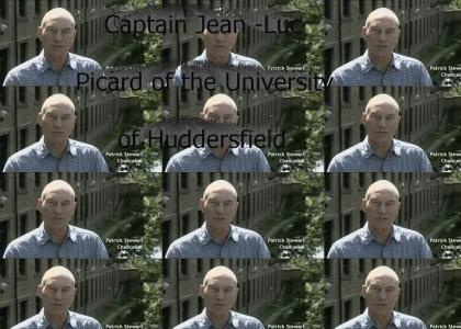Captain Jean-Luc Picard of the University of Huddersfield