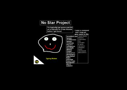 Typing Noises: No Star Project