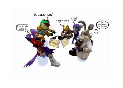 Gaming with Star Fox Team