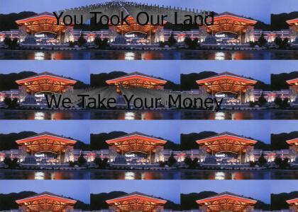 Harrah's Cherokee Casino and Hotel!  Oh Yeah!