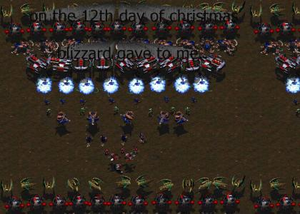 12 days of starcraft
