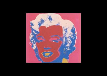 andy warhol's art doesn't change facial expressions