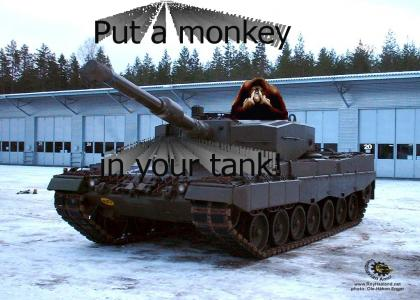 Put a monkey in your tank!
