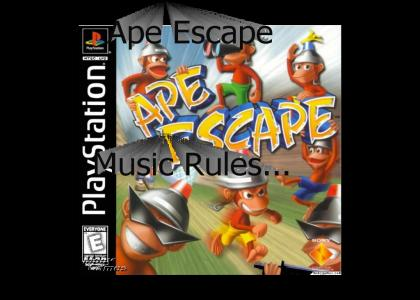 Ape Escape Music