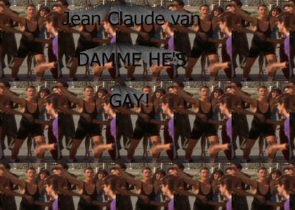 Jean Claude Van DAMME HE'S GAY
