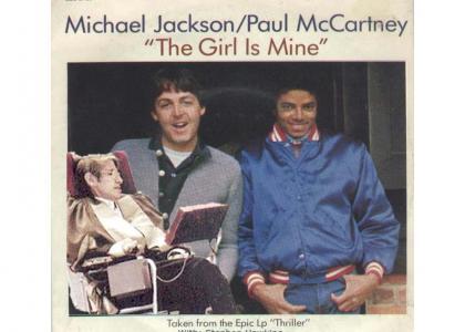 Stephen Hawking - The Girl is Mine