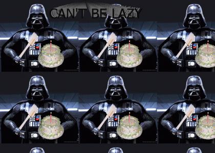 Vader Bakes a Cake