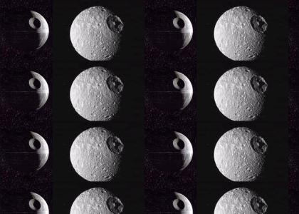 One of Saturn's moons is THE DEATH STAR